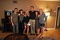 "Ben Kurland, Alyssa Lobit, Jennifer Blanc, Nick Nicholson, Hallie Jordan, Heather Devan<br /> on the ""Mindless"" Film Set by Blanc/Biehn Productions, Private Location, Los Angeles, CA 05-18-14<br /> Dave Edwards/DailyCeleb.com 818-249-4998"