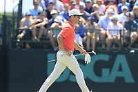 Paul Casey (ENG) on the 7th green during Saturday's Round 3 of the 118th U.S. Open Championship 2018, held at Shinnecock Hills Club, Southampton, New Jersey, USA. 16th June 2018.<br /> Picture: Eoin Clarke | Golffile<br /> <br /> <br /> All photos usage must carry mandatory copyright credit (&copy; Golffile | Eoin Clarke)