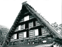 Haus im Gassho-Stil in Shirakawa, Japan