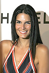 Angie Harmon arrives at Chanel's Launch of Highly Anticipated New Concept Boutique on Robertson Boulevard on May 29, 2008 in Los Angeles, California.