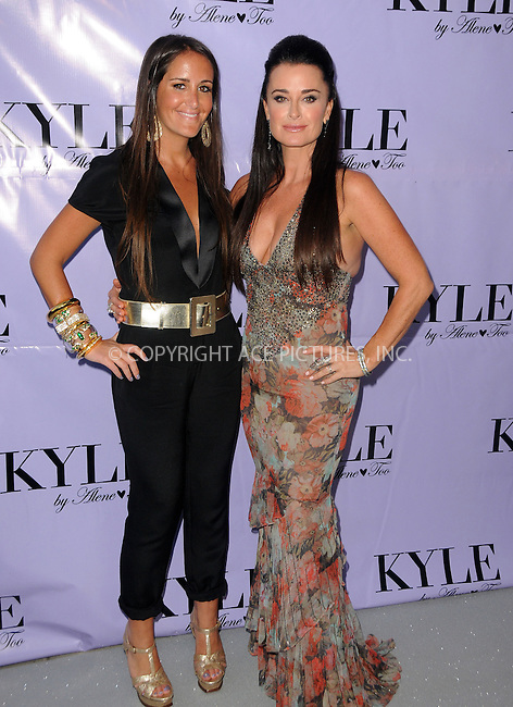 WWW.ACEPIXS.COM . . . . .  ....July 21 2012, LA....Lizzy Schwartz and Kyle Richards at the grand opening for her new boutique 'Kyle By Alene Too' on July 21, 2012 in Beverly Hills, California.....Please byline: PETER WEST - ACE PICTURES.... *** ***..Ace Pictures, Inc:  ..Philip Vaughan (212) 243-8787 or (646) 769 0430..e-mail: info@acepixs.com..web: http://www.acepixs.com