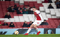 Charlie Gilmour of Arsenal during the UEFA Europa League match between Arsenal and Qarabag FK at the Emirates Stadium, London, England on 13 December 2018. Photo by Andy Rowland.