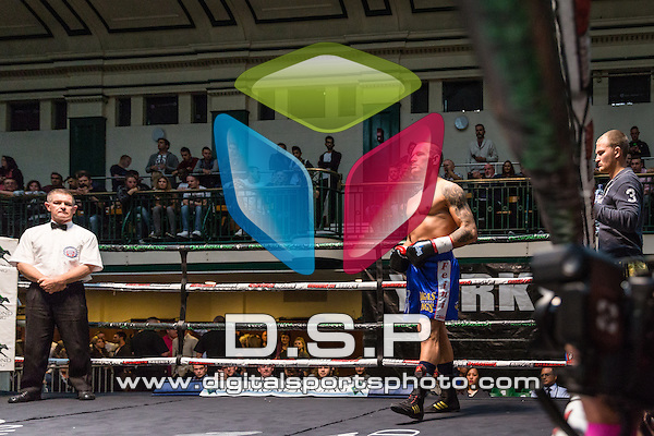Biola Kudus VS Stanislav Makerenko Cruiserweight Contest. Photo by: Stephen Smith<br />