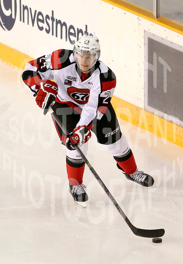 Nevin Guy Ottawa 67's 2014. Photo Scott Grant