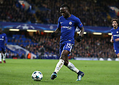 5th December 2017, Stamford Bridge, London, England; UEFA Champions League football, Chelsea versus Atletico Madrid; Victor Moses of Chelsea in action