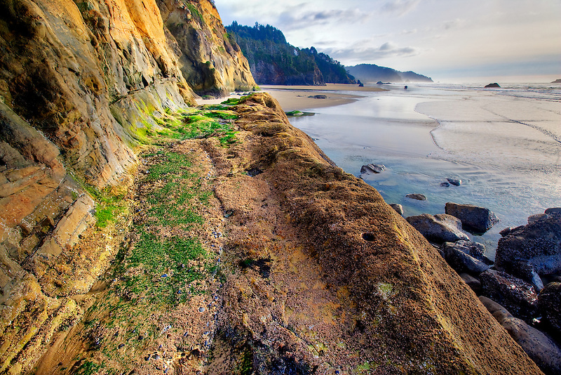 Path/road/trail at Hug Point State Park, Oregon