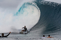 NAMOTU, Fiji (Sunday, June 4, 2017) Ezekiel Lau (HAW) -  The world&rsquo;s best surfers have arrived in the South Pacific for Stop No. 5 on the 2017 World Surf League (WSL) Championship Tour (CT), the Outerknown Fiji Pro and they went straight into first day action with Round 1 of the men's called on for an 8am start.  <br /> <br /> The delayed final of the Outerknown Fiji Women&rsquo;s Pro was run prior to the start of the Men's Round 1 with California&rsquo;s Courtney Conlogue (USA) taking the win over Hawaii&rsquo;s Tatiana Weston-Webb (HAW)<br /> <br /> The 2017 World Title the race for the men is closer than ever heading into Fiji with only 300 points separating No. 1 on the Jeep Leaderboard, John John Florence (HAW), from 2015 WSL Champion Adriano de Souza (BRA), and 2017 World Title contenders Jordy Smith (ZAF) and Owen Wright (AUS). <br /> <br /> <br /> Photo: joliphotos.com