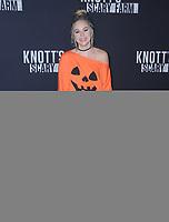 29 September  2017 - Buena Park , California - Brec Bassinger. 2017 Knott's Scary Farm Celebrity Night held at Knott's Berry Farm in Buena Park . Photo Credit: Birdie Thompson/AdMedia
