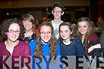 QUIZ TIME: Tralee Rowing Club held a fund raising quiz last Friday night in the Grand hotel, Denny St, Tralee, and taking part were l-r: Sinead Ryall, Annie O'Donnell, Ciara Cusack, Rory Sugrue with Saidbh and Jayde Pope.