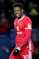 Chuks Aneke of MK Dons during Oxford United vs MK Dons, Sky Bet EFL League 1 Football at the Kassam Stadium on 1st January 2018