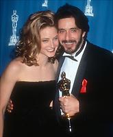 Jodie Foster, Al Pacino, 1993, Photo By Michael Ferguson/PHOTOlink