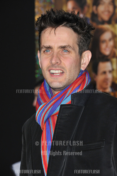 """Joey McIntyre at the world premiere of """"New Year's Eve"""" at Grauman's Chinese Theatre, Hollywood..December 5, 2011  Los Angeles, CA.Picture: Paul Smith / Featureflash"""