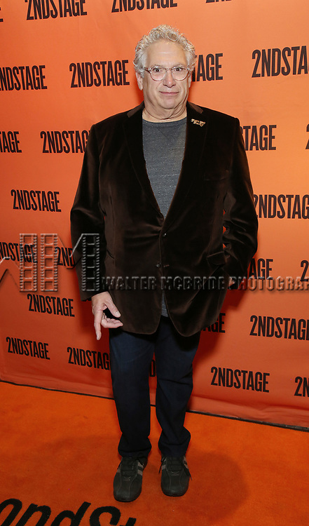 Harvey Fierstein attends the Off-Broadway Opening Night performance of the Second Stage Production on 'Torch Song'  on October 19, 2017 at Tony Kiser Theater in New York City.