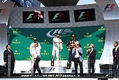 June 11th 2017, Circuit Gilles Villeneuve, Montreal Quebec, Canada; Formula One Grand Prix, Race Day; Lewis Hamilton - Mercedes AMG Petronas wins in Canada followed by team mate Valtteri Bottas and Daniel Ricciardo - Red Bull Racing