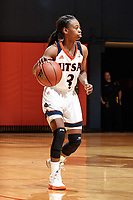 SAN ANTONIO, TX - NOVEMBER 3, 2017: The University of Texas at San Antonio Roadrunners defeat the Trinity University Tigers 74-60 at the UTSA Convocation Center. (Photo by Jeff Huehn)