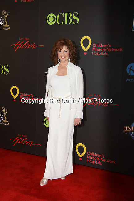 Days of Our Lives Suzanne Rogers on the red carpet at the 38th Annual Daytime Entertainment Emmy Awards 2011 held on June 19, 2011 at the Las Vegas Hilton, Las Vegas, Nevada. (Photo by Sue Coflin/Max Photos)