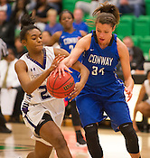 Fayetteville vs Conway girls basketball
