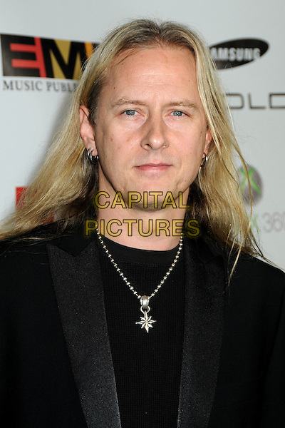 JERRY CANTRELL .At the EMI Post Grammy Party 2010 held at the W Hollywood Hotel, Hollywood, California, USA, 31st January 2010..grammys portrait headshot  black necklace earrings silver  .CAP/ADM/BP.©Byron Purvis/Admedia/Capital Pictures