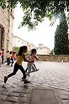 Magali Milian et Romuald Luydlin / La Zampa - Uzès, chemins de danse à l'école