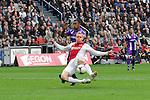 Nederland, Amsterdam, 22 april 2012.Seizoen 2011/2012.Eredivisie.Ajax_FC Groningen.Kolbeinn Sigthorsson van Ajax scoort de 2-0