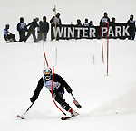 March 4, 2012:  Ralph Green competes during the World Disabled Ski Invitational Championships, Winter Park, Colorado.
