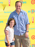 Clark Gregg and daughter at The 14th Anniversary of P.S. ARTS - Express Yourself 2010 held at Barker Hangar in Santa Monica, California on November 07,2010                                                                   Copyright 2010  DVS / Hollywood Press Agency
