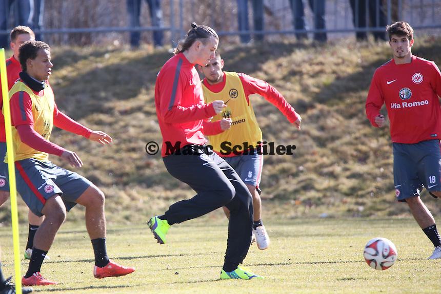 Timothy Chandler und Alex Meier - Eintracht Frankfurt Training, Commerzbank Arena