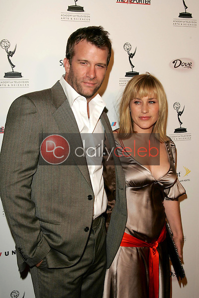 Thomas Jane and Patricia Arquette<br />at the party honoring the 57th Annual Primetime Emmy Awards Nominees for Outstanding Performing Talent, hosted by the Academy of Television Arts and Sciences. Spago, Beverly Hills, CA. 09-16-05<br />Dave Edwards/DailyCeleb.Com 818-249-4998