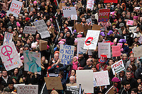 www.acepixs.com<br /> <br /> January 21 2017, New York City<br /> <br /> Protestors take part in an anti-Trump 'Women's March' in Midtown Manhattan on January 21 2017 in New York City<br /> <br /> By Line: Curtis Means/ACE Pictures<br /> <br /> <br /> ACE Pictures Inc<br /> Tel: 6467670430<br /> Email: info@acepixs.com<br /> www.acepixs.com