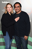 "Nicola Walker and Sanjeev Bhaskar<br /> at the ""Unforgotten"" photocall as part of the BFI & Radio Times Television Festival 2019 at BFI Southbank, London<br /> <br /> ©Ash Knotek  D3494  13/04/2019"