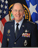 "United States Air Force General C. Robert ""Bob"" Kehler is Commander, U.S. Strategic Command, Offutt Air Force Base, Nebraska. He is responsible for the plans and operations for all U.S. forces conducting strategic deterrence and DoD space and cyberspace operations.  General Kehler entered the Air Force in 1975 as a distinguished graduate of the Air Force ROTC program. He has commanded at the squadron, group, wing and major command levels, and has a broad range of operational and command tours in ICBM operations, space launch, space operations, missile warning and space control. He commanded a Minuteman ICBM operations squadron at Whiteman AFB, Mo., and the Air Force's largest ICBM operations group at Malmstrom AFB, Mont. He served as Deputy Director of Operations, Air Force Space Command; and commanded both the 30th Space Wing at Vandenberg AFB, Calif., and the 21st Space Wing at Peterson AFB, Colo. As Deputy Commander, U.S. Strategic Command, he helped provide the President and Secretary of Defense with a broad range of strategic capabilities and options for the joint warfighter through several diverse mission areas, including space operations, integrated missile defense, computer network operations and global strike. General Kehler also commanded Air Force Space Command and America's ICBM force before its transition from Air Force Space Command to Air Force Global Strike Command in December 2009.  The general's staff assignments include wing-level planning and tours with the Air Staff, Strategic Air Command headquarters and Air Force Space Command. He was also assigned to the Secretary of the Air Force's Office of Legislative Liaison, where he was the point man on Capitol Hill for matters regarding the President's ICBM Modernization Program. As Director of the National Security Space Office, he integrated the activities of a number of space organizations on behalf of the Under Secretary of the Air Force and Director, National Reconnaissance Office.<br /> Credit: DoD via"