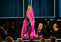 NASHVILLE, TN - NOVEMBER 14:  Carrie Underwood appears on the 52nd Annual CMA Awards at the Bridgestone Arena on November 14, 2018 in Nashville, Tennessee. (Photo by Frederick Breedon/PictureGroup)