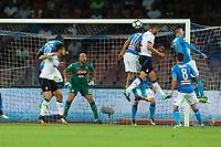 Gol di Bryan Cristante Atalanta, goal celebration<br /> Napoli 27-08-2017  Stadio San Paolo <br /> Football Campionato Serie A 2017/2018 <br /> Napoli - Atalanta<br /> Foto Cesare Purini / Insidefoto
