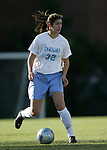 UNC's Yael Averbuch on Friday, November 25th, 2005 at Fetzer Field in Chapel Hill, North Carolina. The Florida State Seminoles defeated the University of North Carolina Tarheels 5-4 on penalty kicks after the teams tied 1-1 after overtime during their NCAA Women's Soccer Tournament quarterfinal game.