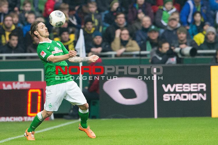 08.02.2014, Weser Stadion, Bremen, GER, 1.FBL, Werder Bremen vs Borussia Dortmund, im Bild<br /> <br /> Ludovic Obraniak (Bremen #7)<br /> <br /> Foto &copy; nordphoto / Kokenge