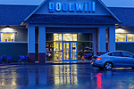 Goodwill store in Rockland, Maine, USA