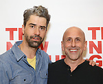 Hamish Linklater and Scott Elliott attend the photo call for The New Group's World Premiere of Hamish Linklater's 'The Whirligig'  at the New 42nd Street Studios on April 3, 2017 in New York City.
