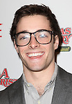 Corey Cott sporting a pair of signature 'Ralphie' specs at the Broadway Opening Night Performance for 'A Christmas Story - The Musical'  at the Lunt Fontanne Theatre in New York City on 11/19/2012.