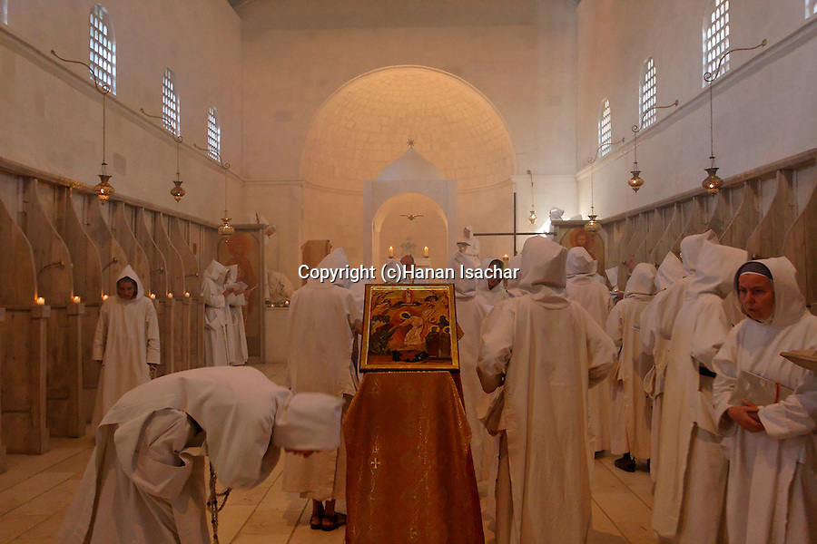 &quot;La F&ecirc;te du Christ-Roi&quot; holiday at the Monastery of the Sisters of Bethlehem of the Assumption of the Virgin and of Saint Bruno in Beth Gemal, Israel<br />