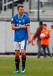 Andy Halliday with captain's armband