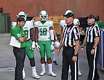 University of North Texas Mean Green Football v USM Golden Eagles on September 30, 2017 at MM Roberts Stadium in Hattiesburg, Mississippi. (Photo: Manny Flores)