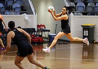 06.10.2014 Silver Fern Joline Henry in action at the Silver Ferns training ahead of the netball test match againt Australia in Melbourne. Mandatory Photo Credit ©Michael Bradley.