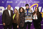 BroadwayHD's Stewart F. Lane and  Bonnie Comley with Ellie Heyman, Max Vernon and Leah Lane during a panel for BroadwayHD and the future of capturing stage performances for New Musicals at New York Hilton Midtown on January 13, 2019 in New York City.