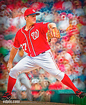 9 June 2013: Washington Nationals pitcher Jordan Zimmermann on the mound against the Minnesota Twins at Nationals Park in Washington, DC. The Nationals shut out the Twins 7-0 in the first game of their day/night double-header.