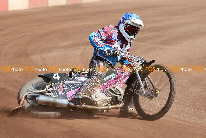 Heat 3: Rob Mear of Lakeside - Lakeside Hammers vs Eastbourne Eagles - Sky Sports Elite League Speedway at Arena Essex Raceway, Purfleet - 06/04/12 - MANDATORY CREDIT: Gavin Ellis/TGSPHOTO - Self billing applies where appropriate - 0845 094 6026 - contact@tgsphoto.co.uk - NO UNPAID USE.