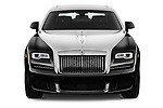 Car photography straight front view of a 2017 Rollsroyce Ghost            Base 4 Door Sedan