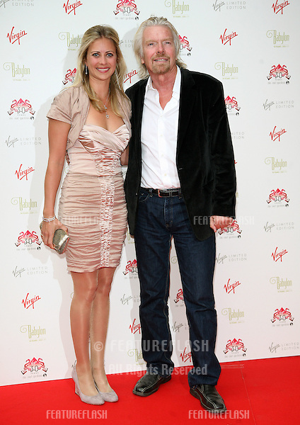 Holly Branson and Richard Branson arriving for The Roof Gardens - 30th Anniversary Party, Kensington Roof Gardens, west London. 06/06/2011  Picture by: Alexandra Glen / Featureflash