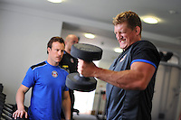 Bath Rugby gym session : 08.07.14