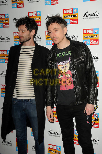 LONDON, ENGLAND - FEBRUARY 18: Drew McConnell attending the NME Awards at Brixton Academy on February 18 2015 in London, England.<br /> CAP/MAR<br /> &copy; Martin Harris/Capital Pictures