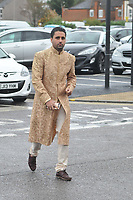 Liam Gatsby<br /> arriving for filming for the Towie Diwali party at sugar hut brentwood essex <br /> <br /> &copy;Richard Open snappers